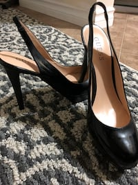 GUESS SLING OPEN BACK platform  SHOES Burnaby, V3N 1R4