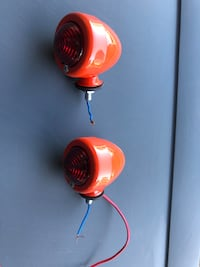 Pair of allis- chalmers tail lights