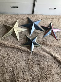 Set of 4 decorate stars Gainesville, 20155