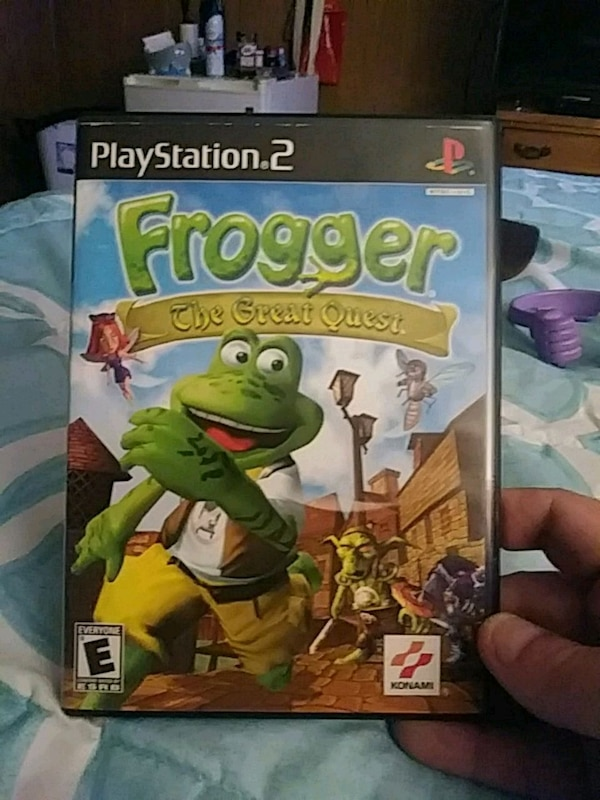 Frogger The Great Quest PS2 game