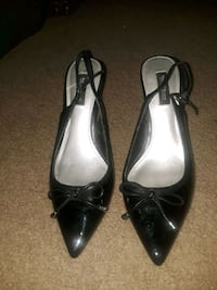 Leather tip heels  Humble, 77338