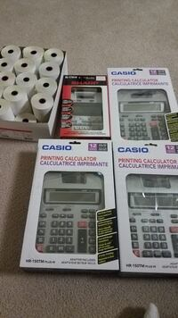 Printing calculators new! All for $20  Airdrie, T4B 2W3