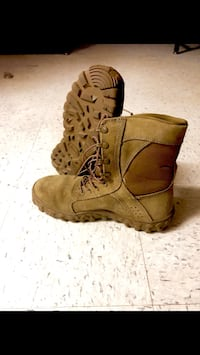 Brand new rocky s2v coyote brown size 13 796 mi