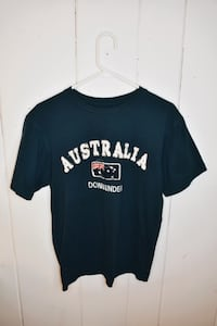 Charcoal Grey Authentic Australia Crew Neck T La Grange Park, 60526