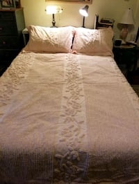 pink chenille bedspread  Westwood, 07675