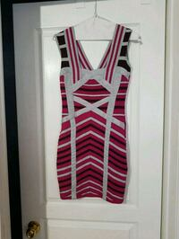 women's pink and white striped tank top Toronto, M1E 2R7