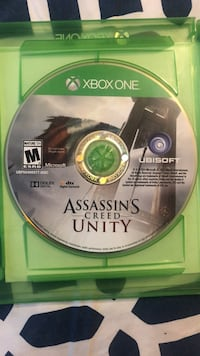 Xbox One Assassin's Creed Unity disc Washington, 20011