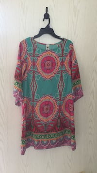 Women's multicolored floral long-sleeved dress Tuscaloosa, 35405