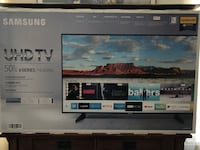 "SAMSUNG 50"" UHD TV - New (used 6 hours at trade show) Alexandria, 22315"