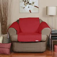 Water-resistant Quilted Chair Cover (Merlot) Toronto, M6N 3V9