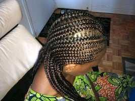 Tresses africaines 1$