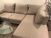 Living Spaces Grey Couch San Jose, 95134