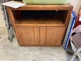 tv table wooden
