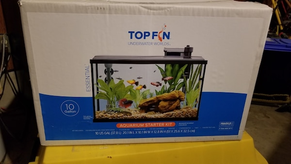Top Fin 10-gallon Aquarium Starter Set