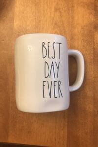 Rae Dunn Best Day Ever Mug - new with tags! Toronto, M4T 1Y7
