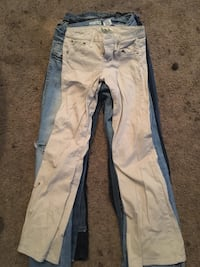 white and blue denim jeans Vancouver, 98665