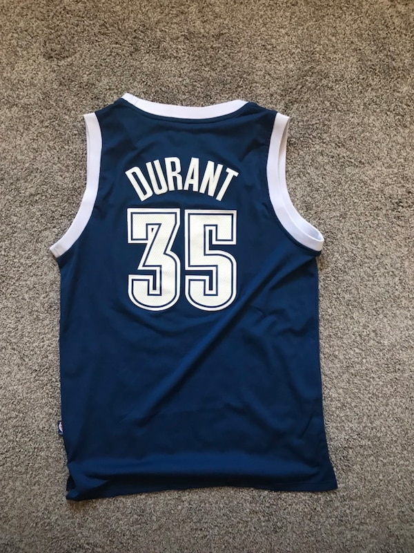best service 1edff 82139 Throwback Kevin Durant OKC jersey