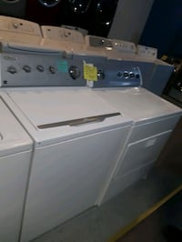 WHIRLPOOL TOP LOAD WASHER AND DRYER SET WORKING PERFECTLY  Baltimore, 21201