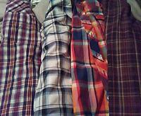 Lg mens flanel shits gteat condition Dover, 19904