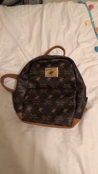 Black and brown polo club back pack Manteca, 95336