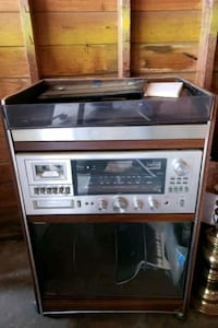 Vintage stereo player