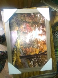brown wooden framed painting of trees Camp Hill, 17011