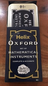 Mathematical Instruments Set