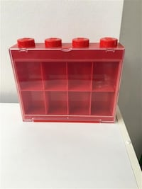 Lego Minifigure Display case - small red Markham