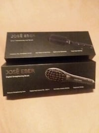 black and gray hair straightener with box South Houston, 77587