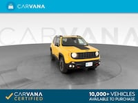 2016 Jeep Renegade suv Trailhawk Sport Utility 4D Yellow Charlotte