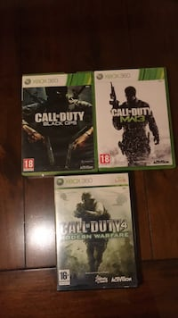 Xbox spel - Call of Duty  6628 km