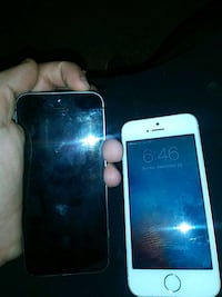 white iPhone 5 with black case Hartford, 06106