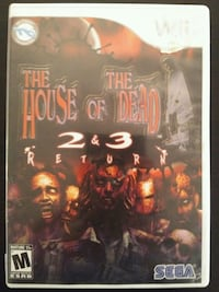 Nintendo Wii House of the Dead 2 and 3 Return  Vaughan, L4L