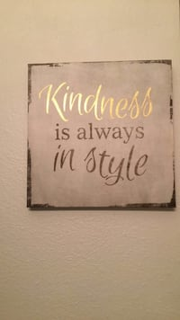Kindness is always in style poster