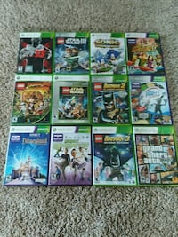 assorted Microsoft Xbox 360 game case lot Belle Plaine, 56011