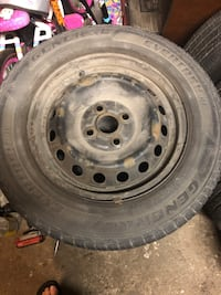 185/65/14 tire and rims