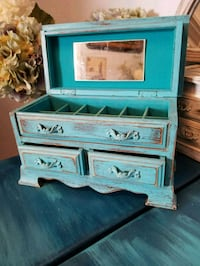 Jewelry Box - Upcycled Vintage- Beach Cottage  Saint Petersburg, 33710