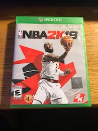 NBA 2K18 - Xbox One Huntington Beach, 92649