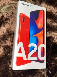 Samsung Galaxy A20 Red Factory Unlocked (SM-A205G/DS) New New York, 10452