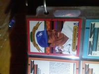 two baseball player trading cards Cleveland, 37311