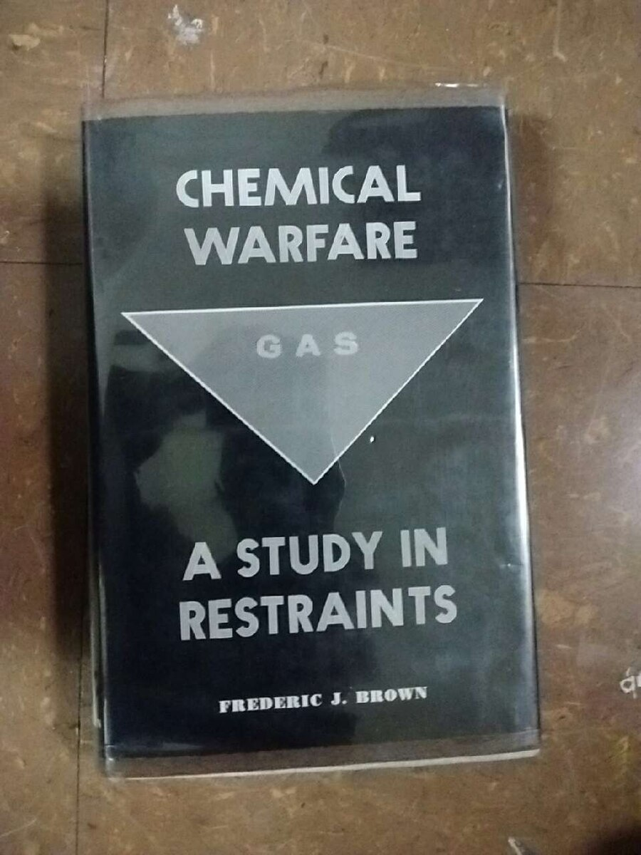 chemical warfare a sudy in restraints