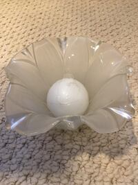 Pretty Mikasa candle holder with candle