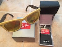 Brown and beigeRay-Ban wayfarer sunglasses Price Reduced!!  El Paso, 79912
