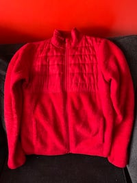 Red sweater woman's small 4-6 Round Lake, 60073