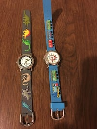 2 mint conditions watches jurrassic world and tnomas and friends Gurnee, 60031