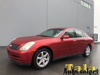2003 INFINITI G35 AUTOMATIC FULLY LOADED NEW WESTMINSTER