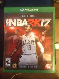 Nba 2k17 xbox one game  with case Englewood, 37329