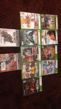 Xbox and ps3 game lot Belvidere, 61008