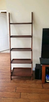 two brown wooden 3-layer shelves DeLand, 32720
