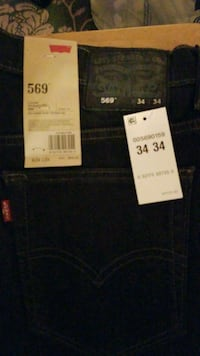 New Men 569 Levi's black 34x34  Fort Washington, 20744